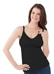 Bravado Essential Nursing Tank Black