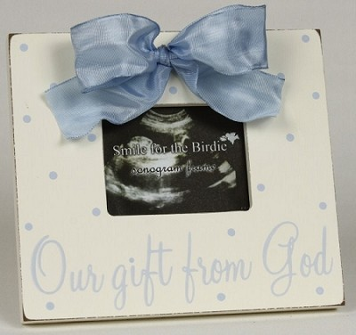 """Our Gift From God"" 3 x 4 Photo Frame"