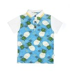 S/S Pineapple Print Polo