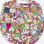 Tokipops Premium Cotton Quadruple Bib